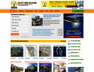 venusland.com.vn screenshot