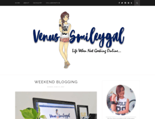 venussmileygal.com screenshot