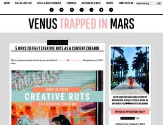 venustrappedinmars.com screenshot