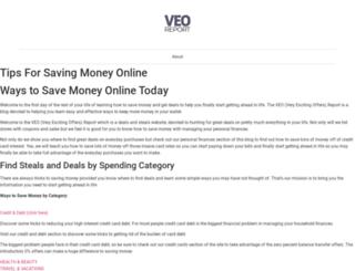 veoreport.com screenshot