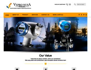 vepronusapersada.com screenshot
