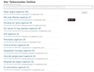 ver-telenovelas.com screenshot