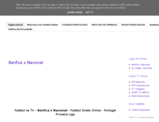 ver-televisao-online.blogspot.pt screenshot