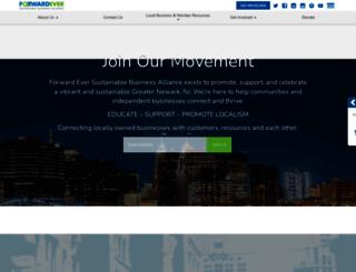 veracity-forwardevernj.nationbuilder.com screenshot