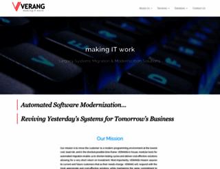 verang.co.za screenshot