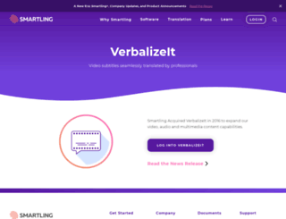 verbalizeit.com screenshot