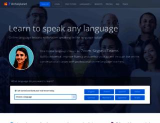 verbalplanet.com screenshot