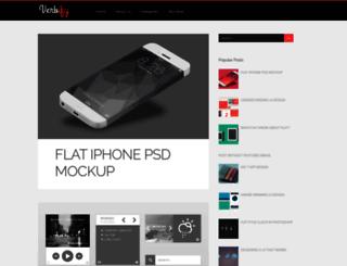 verbify-templateify.blogspot.com screenshot