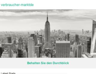 verbraucher-markt.de screenshot