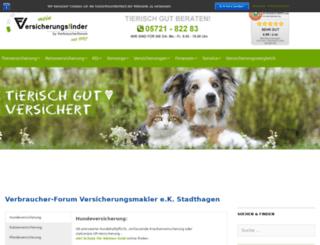 verbraucherforum-info.de screenshot