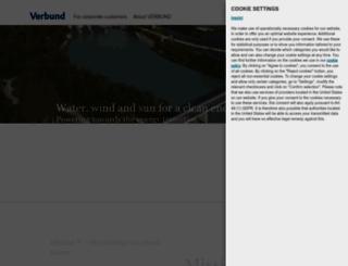 verbund.com screenshot
