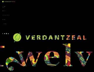 verdantzeal.com screenshot
