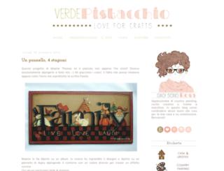 verdepistacchiocrafts.blogspot.it screenshot