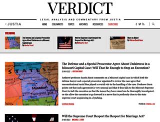 verdict.justia.com screenshot