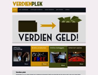 verdienplek.nl screenshot