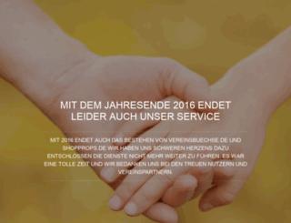 vereinsbuechse.com screenshot
