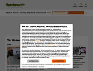 vereinswelt.de screenshot