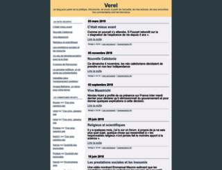 verel.typepad.fr screenshot