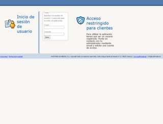 veremonte.auditmedia.es screenshot
