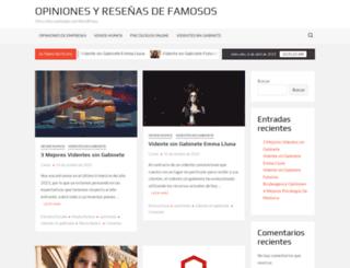 verfamosos.com screenshot