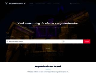 vergaderlocaties.nl screenshot