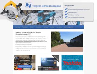 vergeergereedschappen.nl screenshot