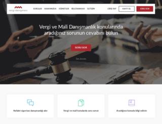 vergidanismani.com screenshot