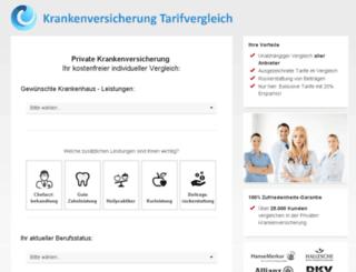 vergleich-deine-pkv.com screenshot