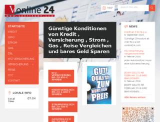 vergleichsonline24.de screenshot