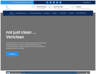 vericleanservices.com screenshot
