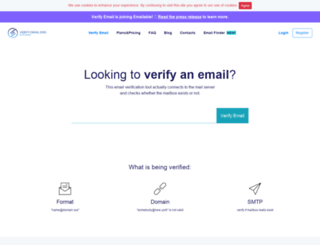 verify-email.org screenshot