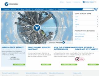 verisign-grs.com screenshot