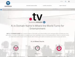 verisign.tv screenshot