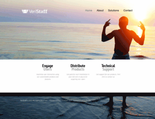 veristaff.com screenshot