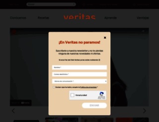 veritas.es screenshot