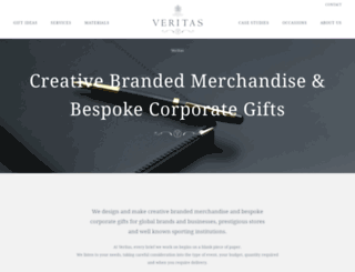 veritasgifts.co.uk screenshot