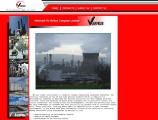 verituscorp.com screenshot