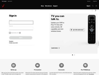 verizon.net screenshot
