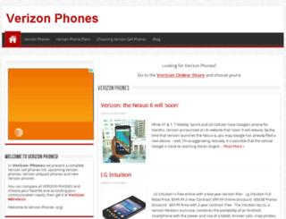 verizonphones.org screenshot
