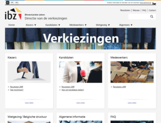 verkiezingen.fgov.be screenshot