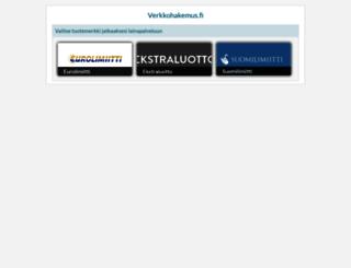 verkkohakemus.fi screenshot