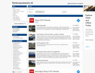 verkoopuwauto.nl screenshot
