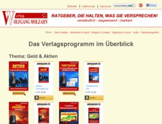verlag-wolfgang-molzahn.de screenshot