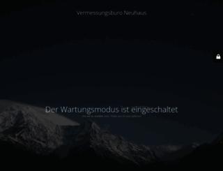 vermessung-bocholt.de screenshot