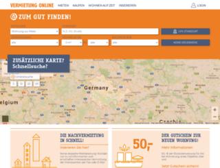 vermietung-online.de screenshot
