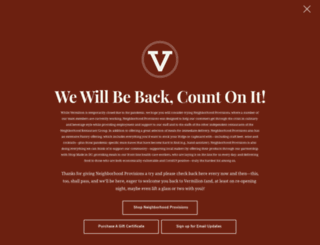 vermilionrestaurant.com screenshot