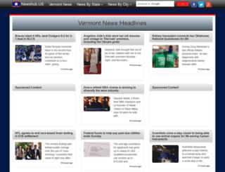 vermont.newshub.us screenshot