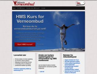 verneombudhms.no screenshot