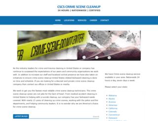 vernon-texas.crimescenecleanupservices.com screenshot