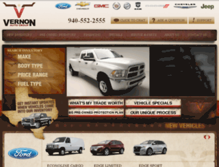 vernonforddodge.com screenshot